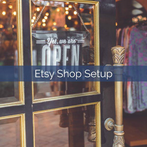 etsy shop setup benavides virtual services
